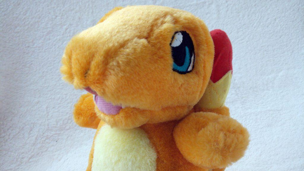 McDonald's Taiwan 2002 Pokémon Plush Charmander headshot