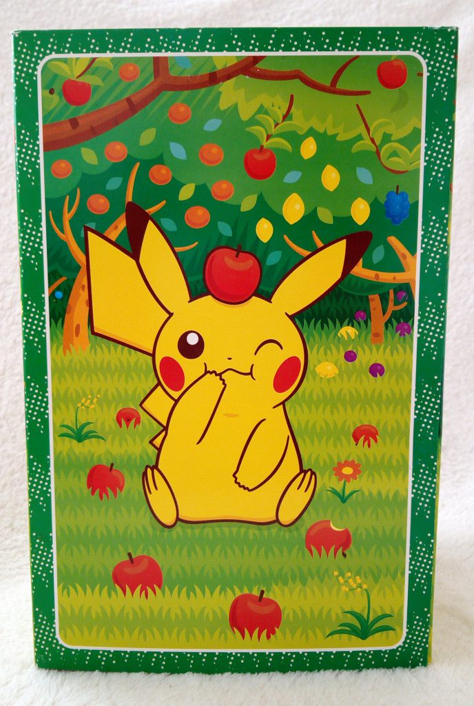 Rainbow Series 2010 plush by Pokémon Center Munching Pikachu box