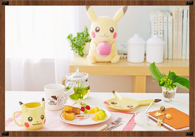 Pokémon Life@Enjoy Eating! by Banpresto promo