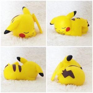 Tomy Pikachu Sleeping pose 1