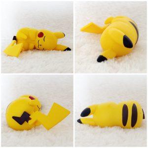 Tomy Pikachu Sleeping pose 4