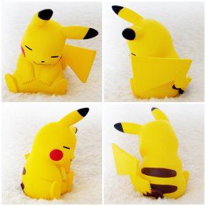 Tomy Pikachu Sleeping pose 5