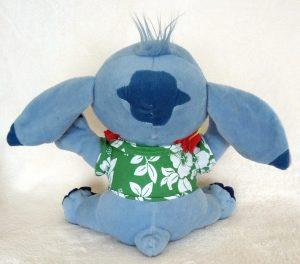 Stitch SEGA Green Hawaii back
