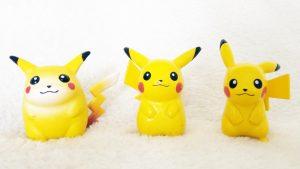 Tomy Pikachu comparison