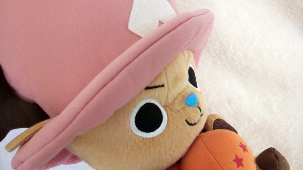Dragon Ball Z X One Piece DX Plush: Chopper by Banpresto for the  Weekly Shōnen Jump 40th Anniversary