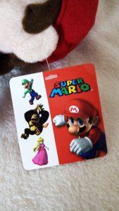 Mario PMS Plush 2009 hang tag front
