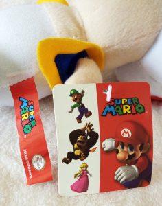 Mario PMS Plush 2009 tags front