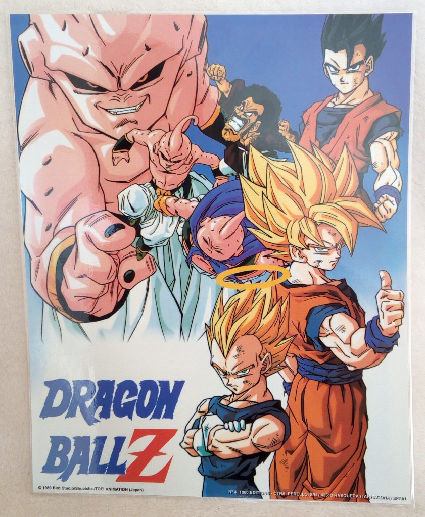 DBZ Posters 1000 Editions Poster 4