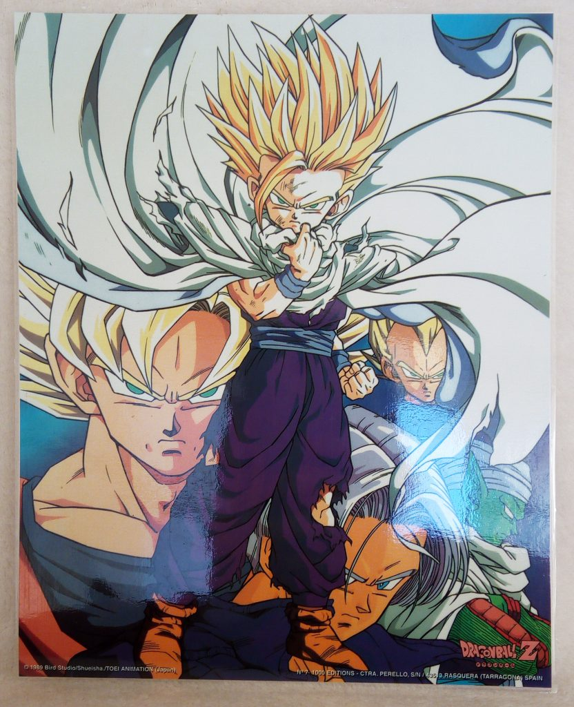DBZ Posters 1000 Editions Poster 7