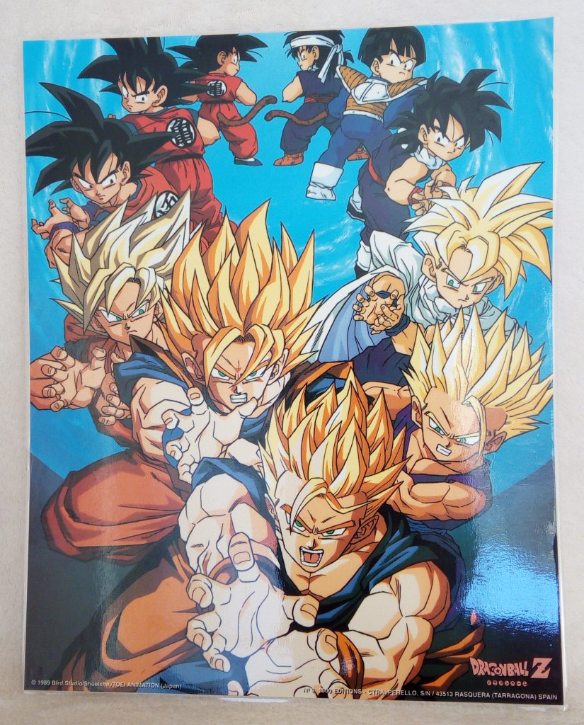 DBZ Posters 1000 Editions Poster 9