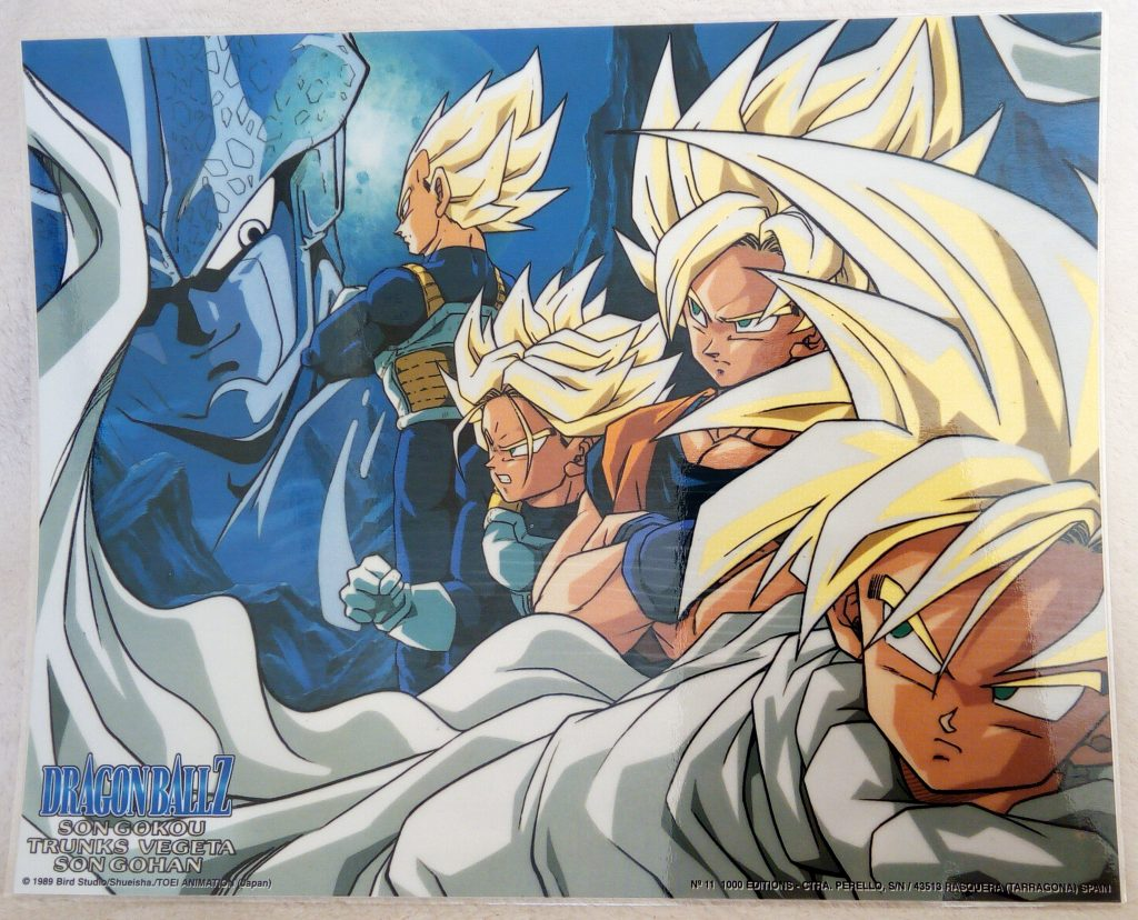DBZ Posters 1000 Editions Poster 11