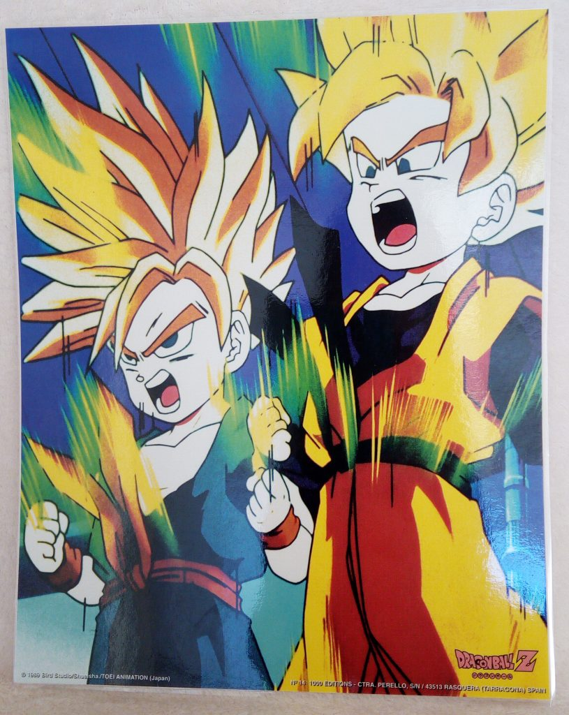 DBZ Posters 1000 Editions Poster 14