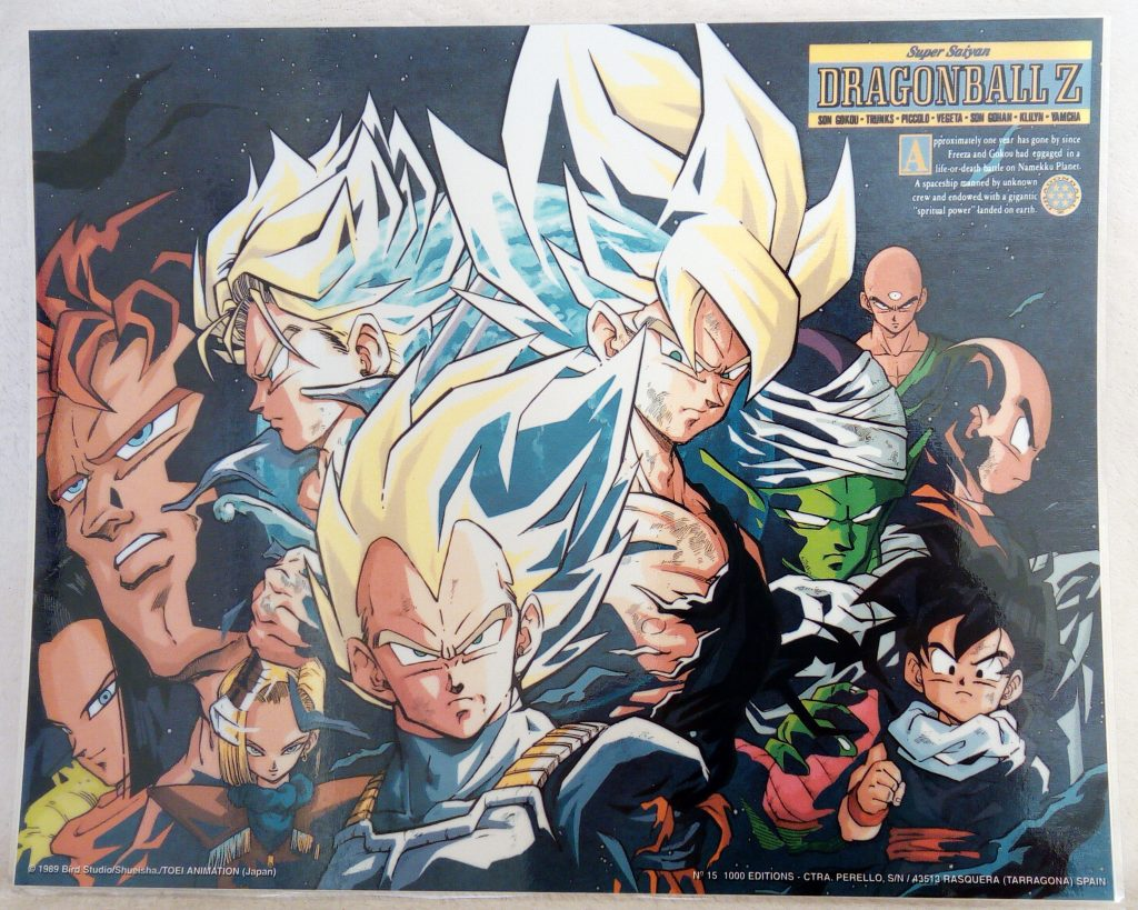 DBZ Posters 1000 Editions Poster 15