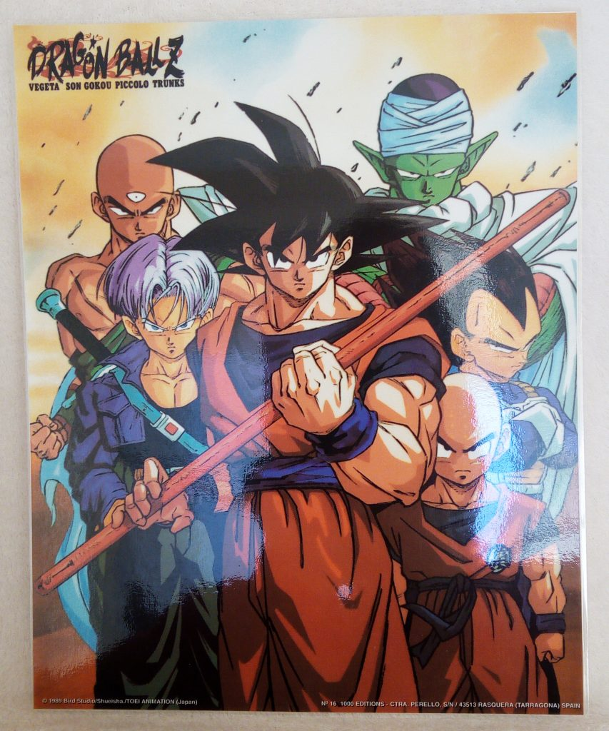 DBZ Posters 1000 Editions Poster 16