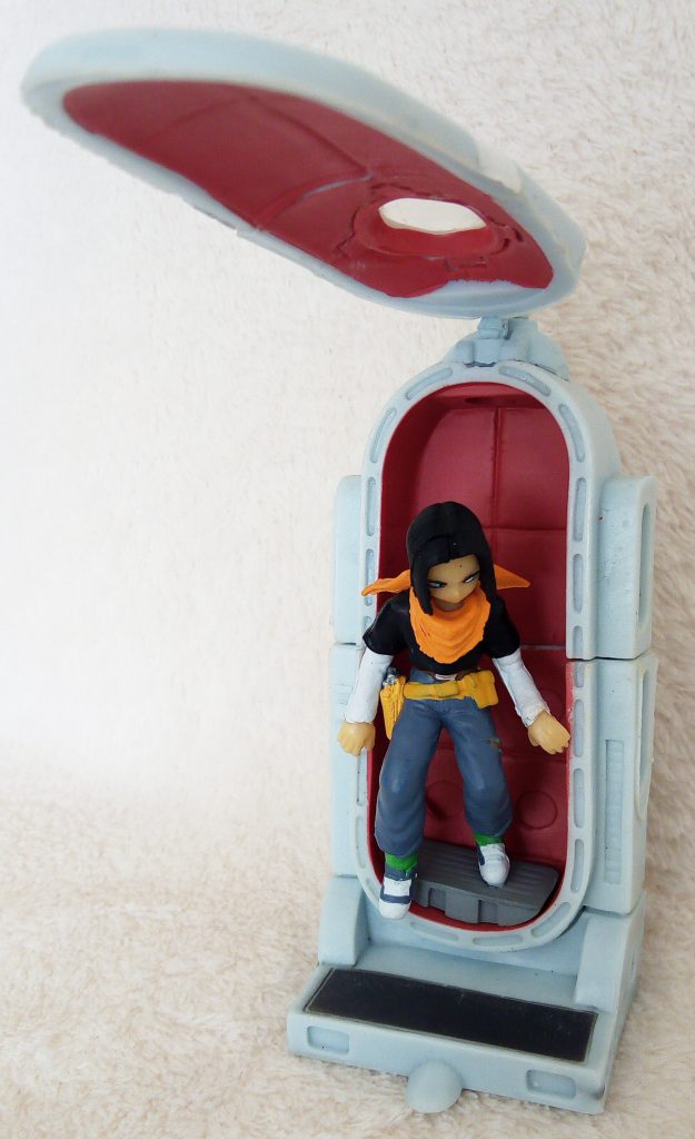 Dragonball Z Imagination Figure Vol. 6 by Bandai Start-up! Android #17