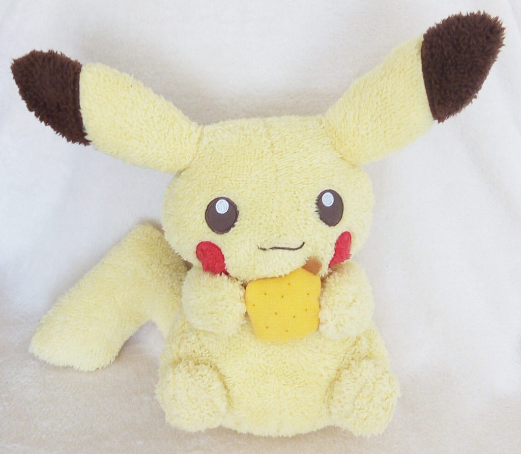 Pikachu & Friends with berries Pikachu plush front