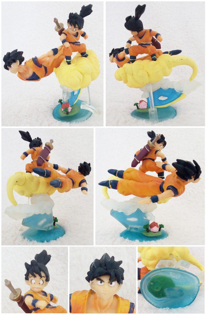 Dragonball Z Imagination Figure Vol. 7 by Bandai Goku & Gohan