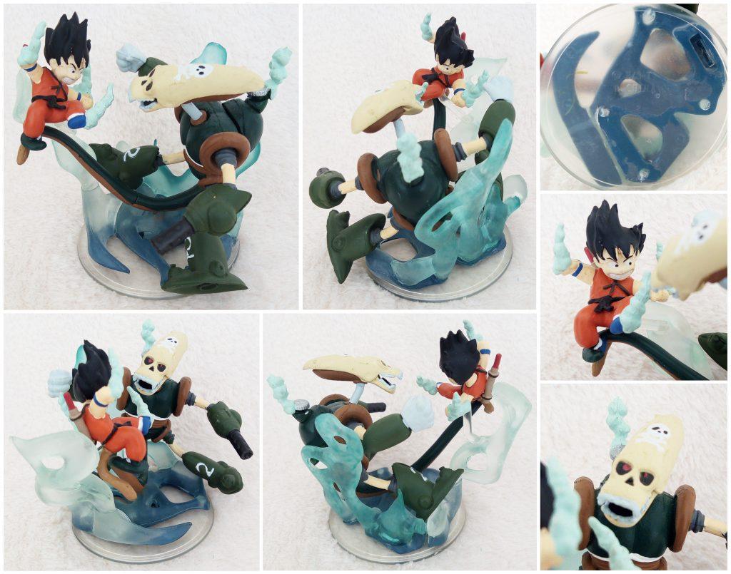 Dragonball Z Imagination Figure Vol. 7 by Bandai Ambush in cave