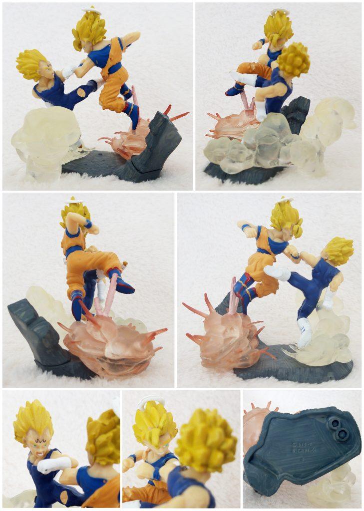 Dragonball Z Imagination Figure Vol. 6 by Bandai Confrontation of Fate