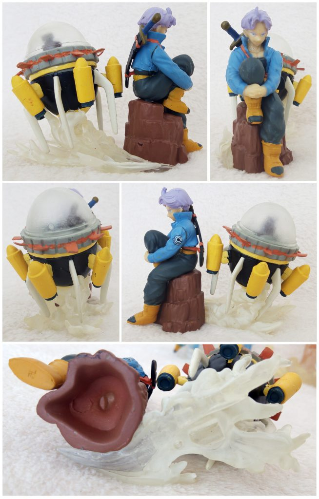Dragonball Z Imagination Figure Vol. 6 by Bandai Trunks with Time Machine