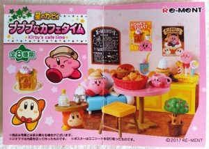 Kirby's Cafe Time leaflet