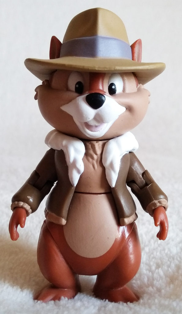 Disney Afternoon Action Figures Chip by Funko, front.