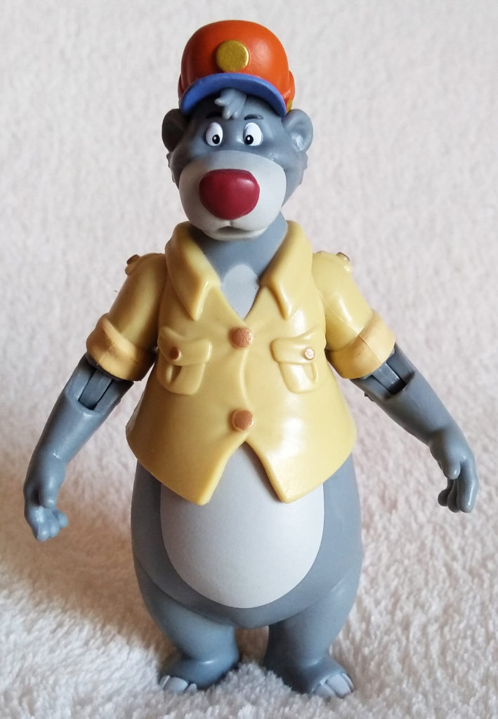Disney Afternoon Action Figures Baloo by Funko, front.