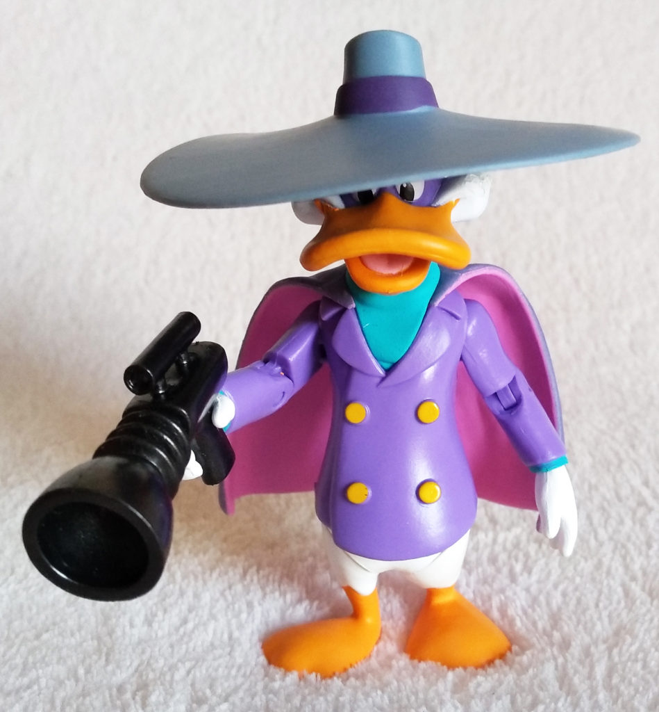 Disney Afternoon Action Figures Darkwing Duck by Funko, front.