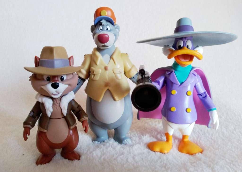 Disney Afternoon Action Figures by Funko, collection