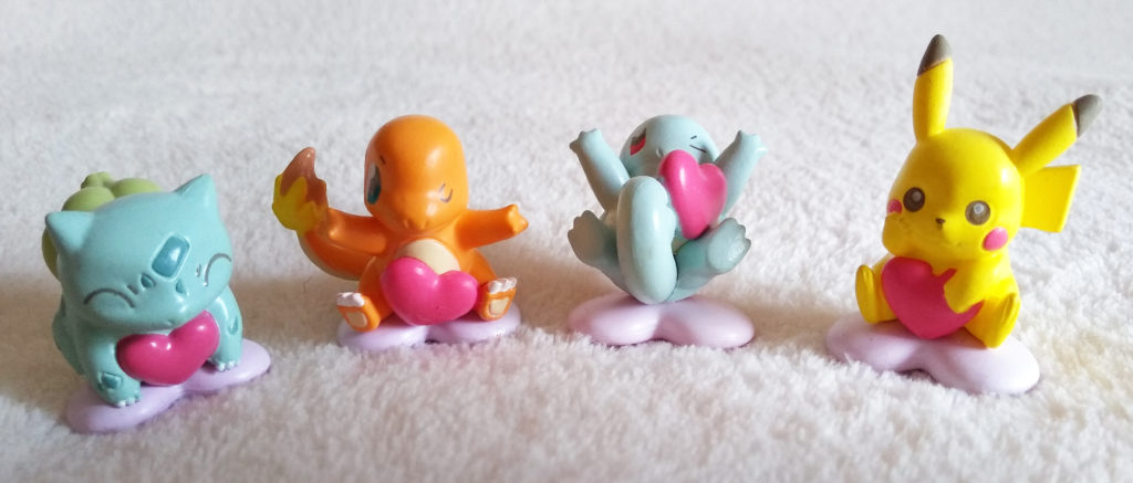 Pokémon Oh!-Egg Bath Ball figures by Bandai
