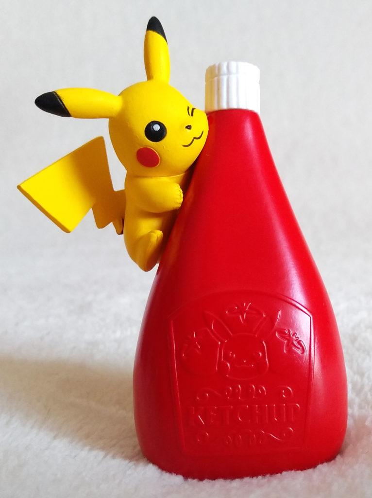 Pokémon Pikachu loves Ketchup - 1 Big Ketchup