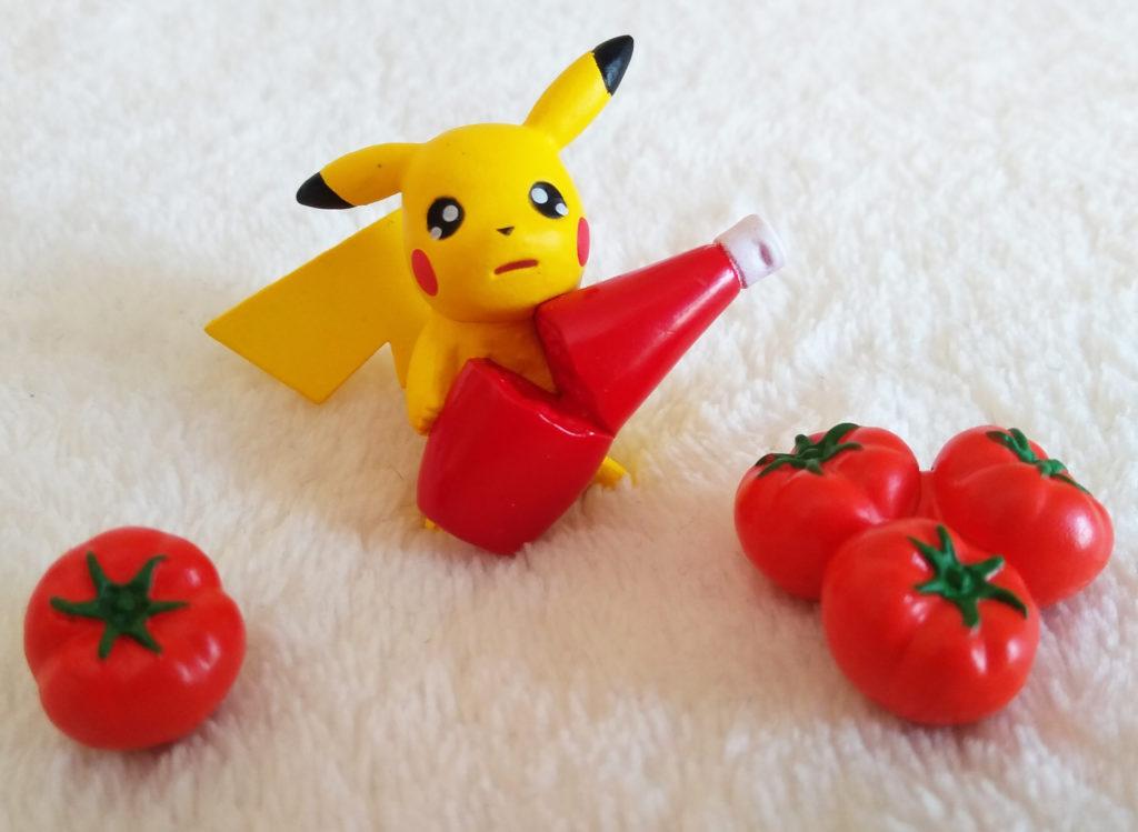 Pokémon Pikachu loves Ketchup - 8 Ketchup...