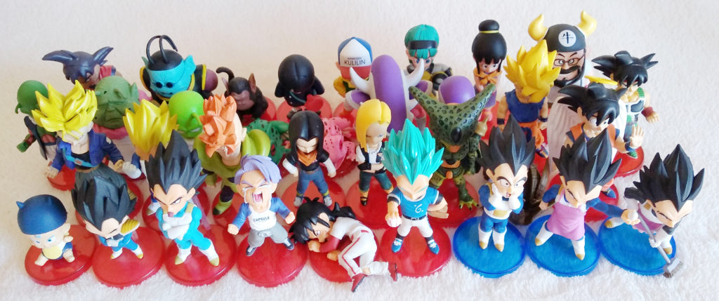 Dragonball WCF Collection