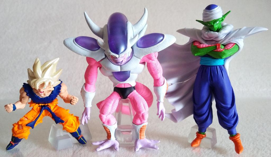 HG15/HGSP3 Super Saiyan Goku. HG13/HGSP3 Frieza (second form). HG5/HGSP3 Piccolo.