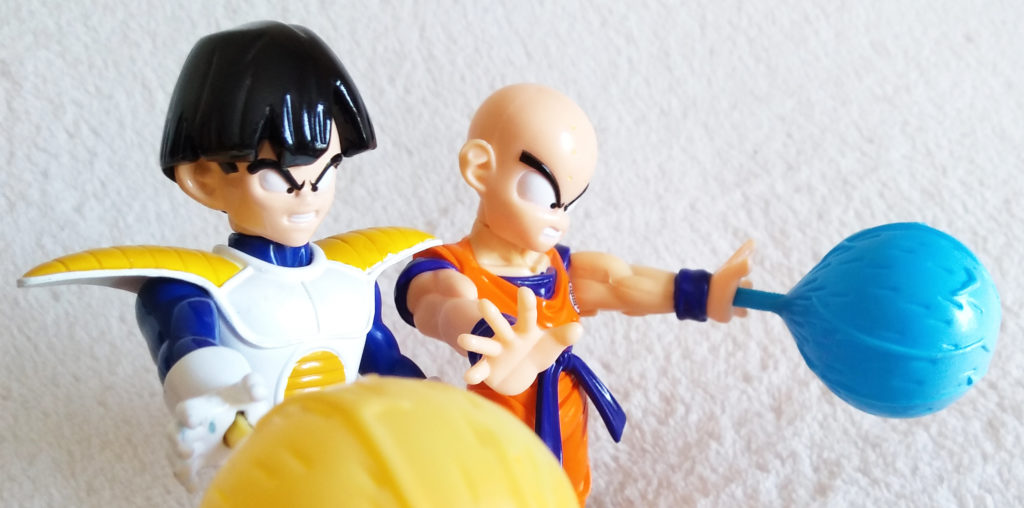 Dragonball Z Blasting Energy Action Figures by Irwin Toy