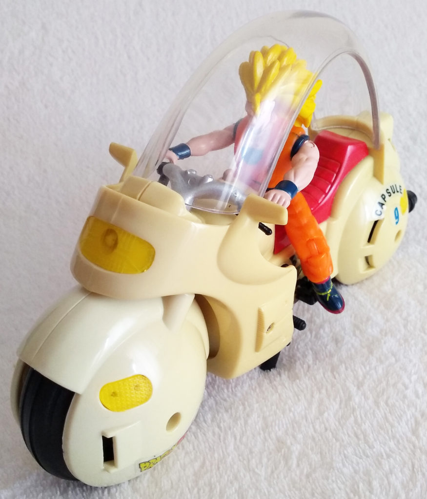 Dragonball Z Motorbike by AB groupe