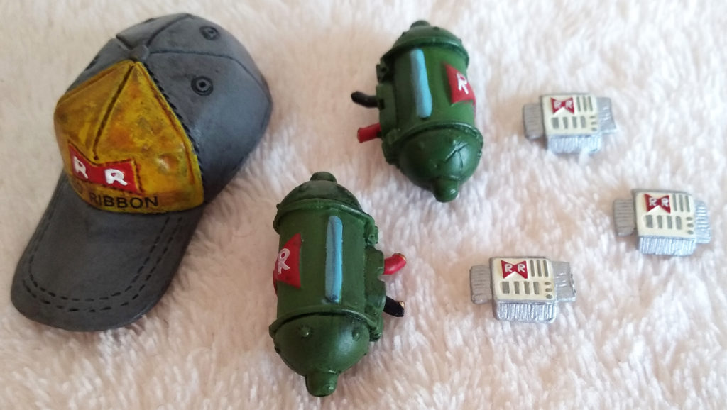 Dragonball Z / GT Movie Collection – Jakks Pacific Series 4 Android #13 accessories