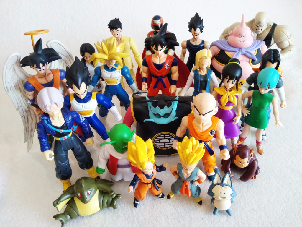 Dragonball Z Action Figures by Irwin Toy