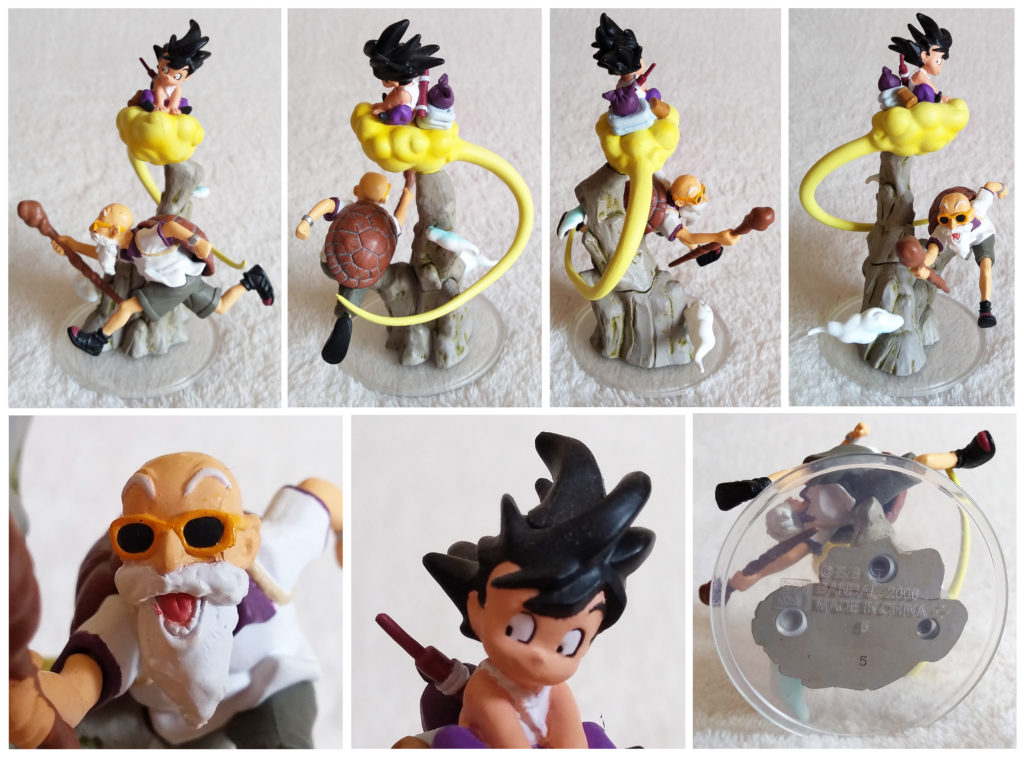 Dragonball Z Imagination Figure Vol. 8 by Bandai Master Roshi & Son Goku