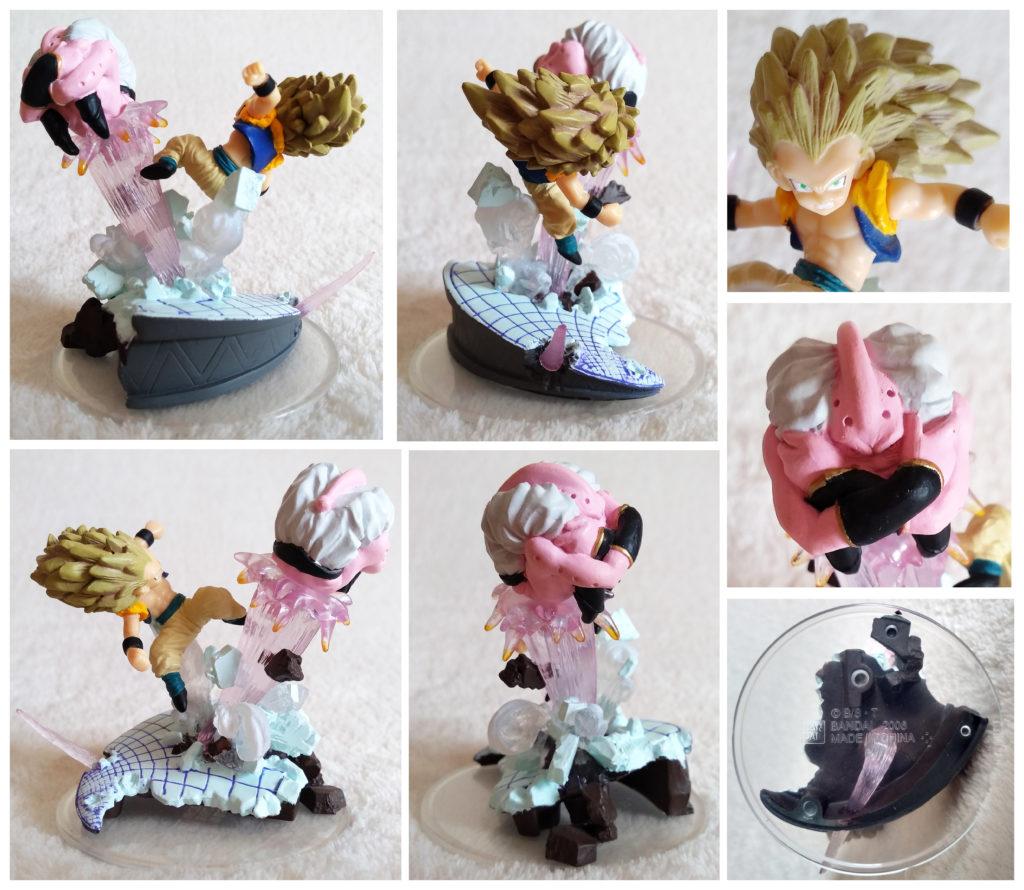 Dragonball Z Imagination Figure Vol. 8 by Bandai Gotenks VS Buu
