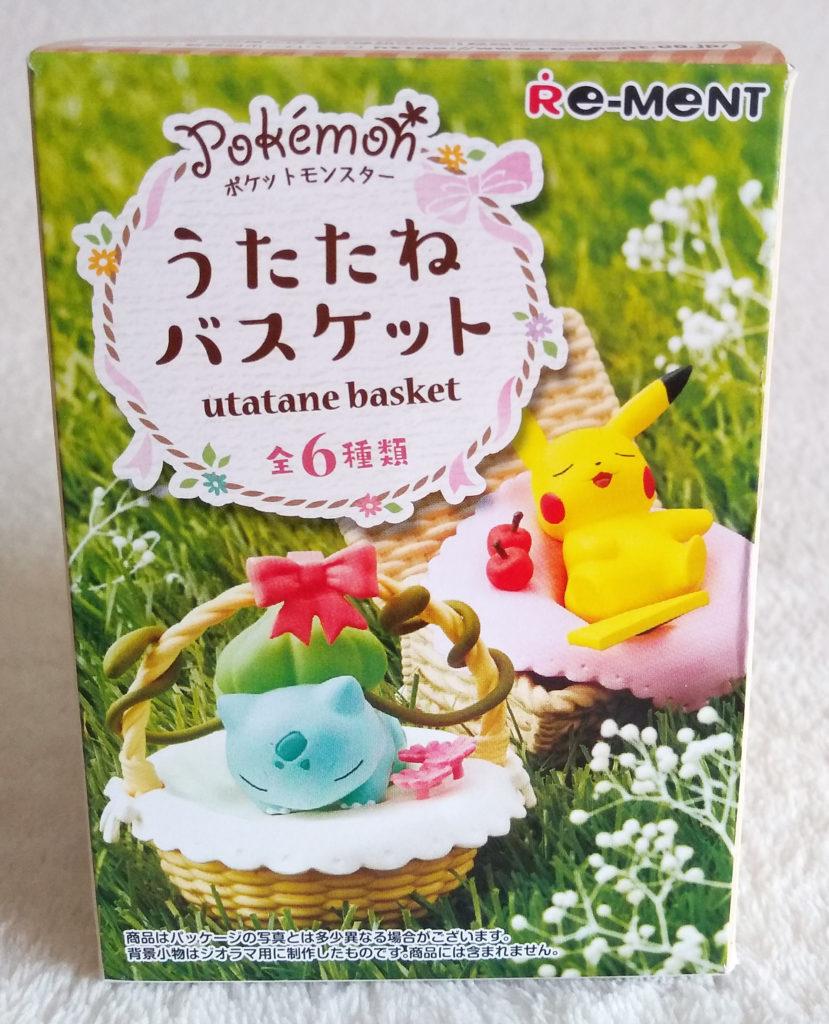 Pokémon Utatane Basket by Re-ment Blind Box