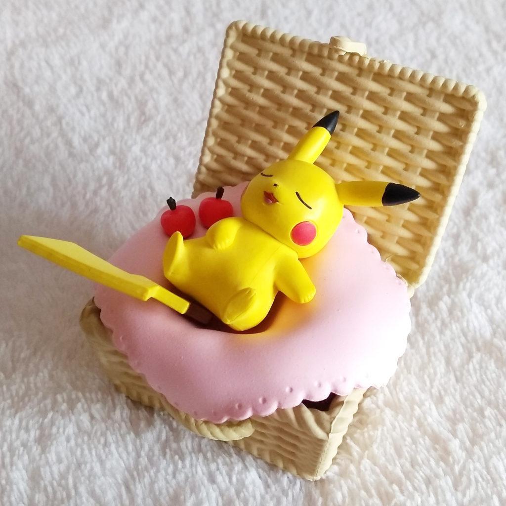 Pokémon Utatane Basket by Re-ment Pikachu