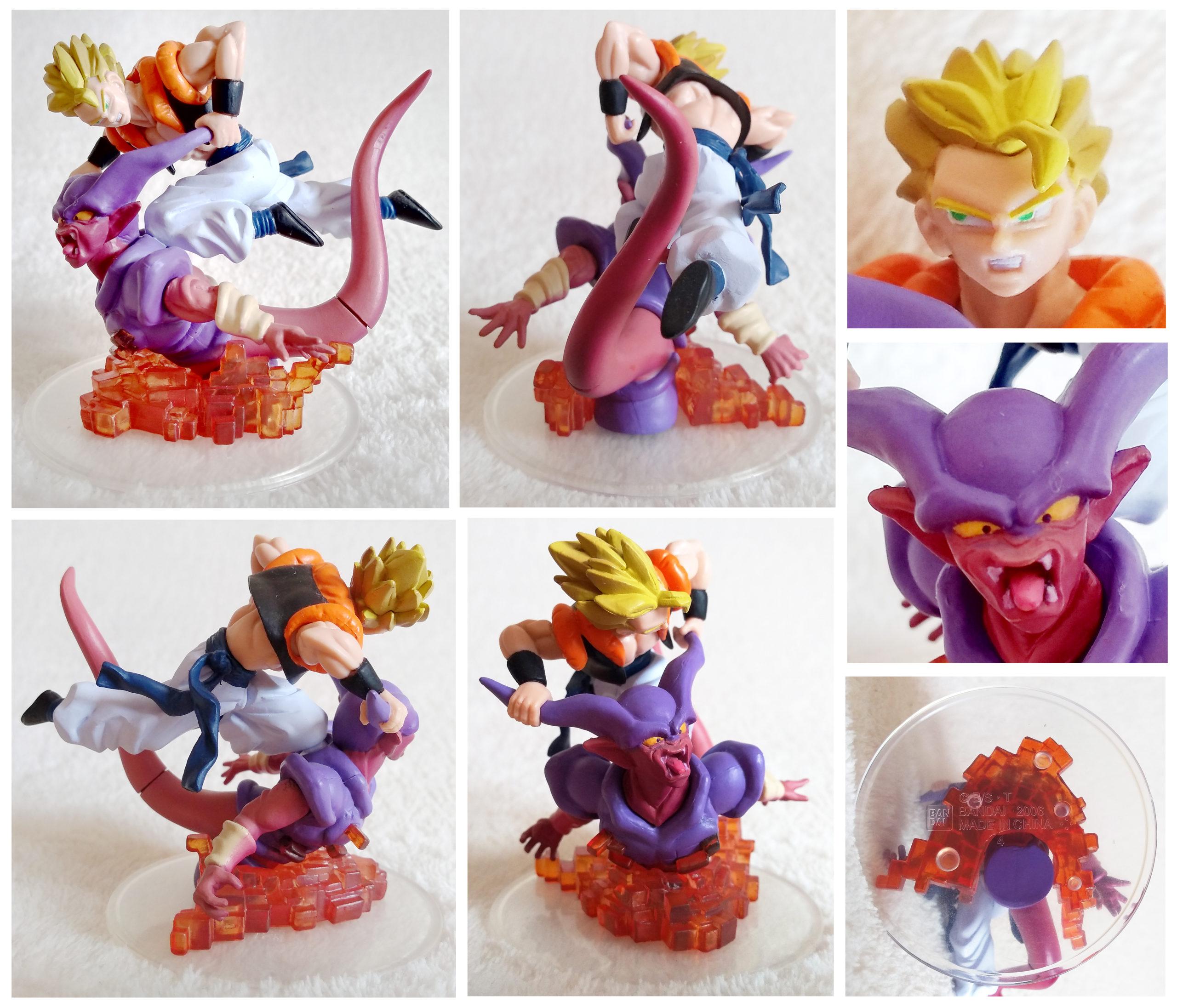 Dragonball Z Imagination Figure Vol. 8 by Bandai Gogeta VS Janemba