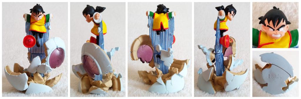 Dragonball Z Imagination Figure Vol. 8 by Bandai Gohan awakens the power!