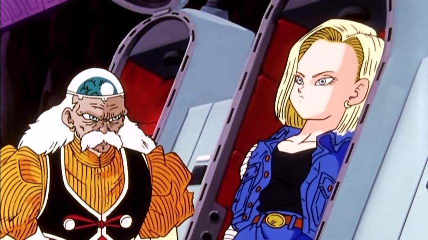Screenshot of DBZ Episode 133