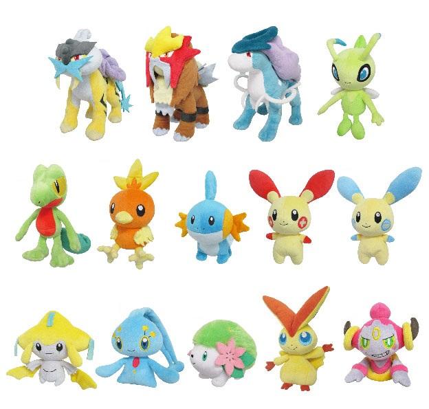 Pokémon All Star Collection Plush by San-ei Wave 6