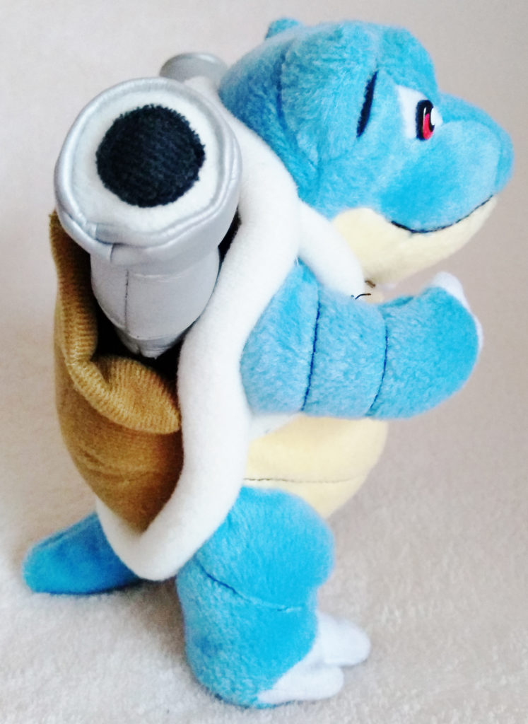 Pokémon Play-By-Play Plush Blastoise smooth 16cm right