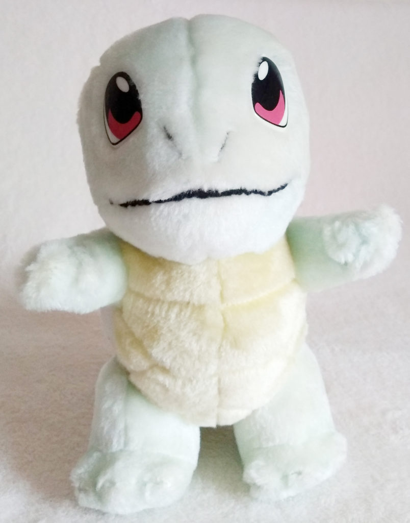 Pokémon Play-By-Play Plush Squirtle fuzzy 24cm front