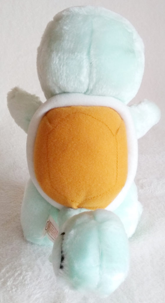 Pokémon Play-By-Play Plush Squirtle fuzzy 24cm back
