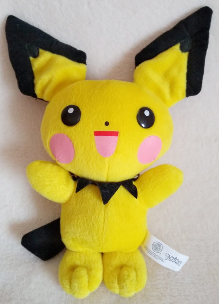 Pokémon Play-By-Play Plush Pichu smooth 29cm front